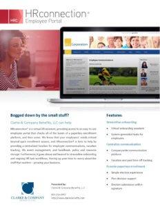 Exhibit E-5 HR Connection Brochure