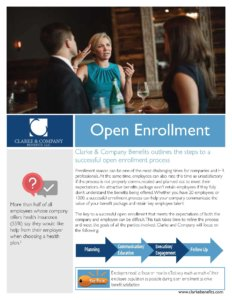 Exhibit V-22 Open Enrollment Process