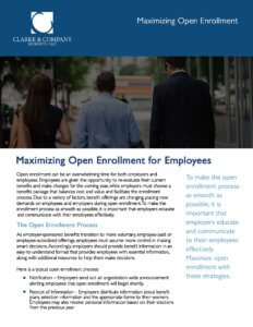 Exhibit W-23 Maximizing Open Enrollment