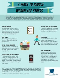 7 Ways to Reduce Workplace Stress