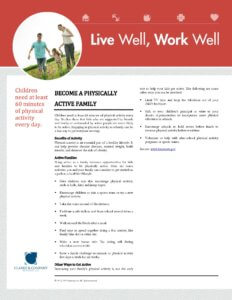 Become a physically active family