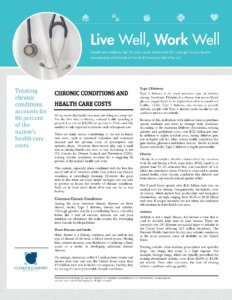 Chronic Conditions and Health Care Costs