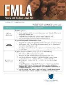 FMLA Guidelines