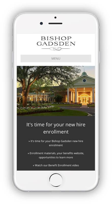 Annual enrollment iphone