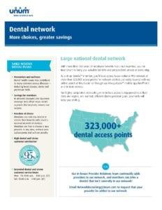 Dental Network Flyer