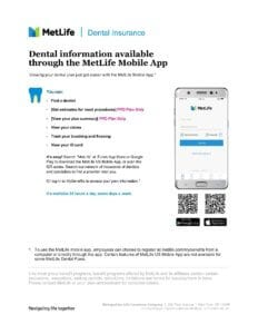 Dental App Employee Flyer