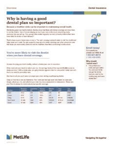 Dental PPO Product Overview