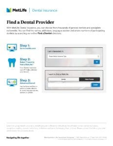 Find a Dental Provider